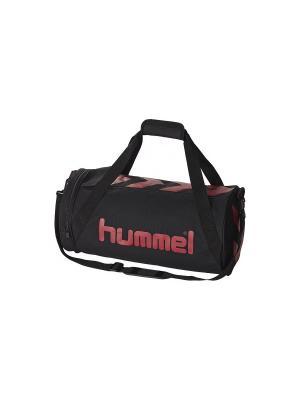 Сумкa STAY AUTHENTIC SPORT BAG-S HUMMEL. Цвет: черный