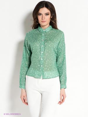 Блузка Viaggio. Цвет: светло-зеленый