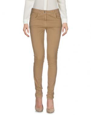 Повседневные брюки TOY G.. Цвет: верблюжий