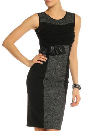 Платье SFIZIO. Цвет: черный