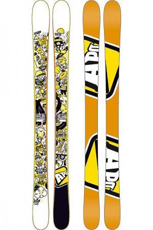 Горные лыжи детские  Justin 135 Orange Apo. Цвет: белый,оранжевый,черный