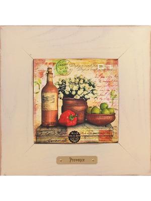 Картина-сувенир Дарю тебе радость Ceramic Picture. Цвет: бежевый