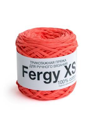 Пряжа Fergy XS. Цвет: коралловый