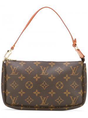 Monogram clutch Louis Vuitton Vintage. Цвет: коричневый