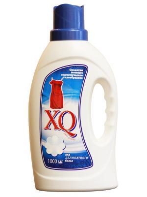 Средство моющее синтетическое гелеобразное для деликатного белья, 1 л XQ. Цвет: прозрачный