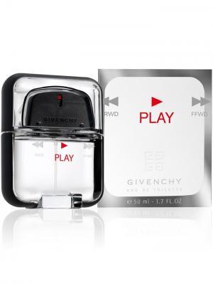 Play man edt 50 ml GIVENCHY. Цвет: белый, серебристый