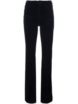 Расклешенные брюки Maria J Brand. Цвет: розовый и фиолетовый