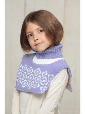 Манишка FOMAS. Цвет: фиолетовый, белый