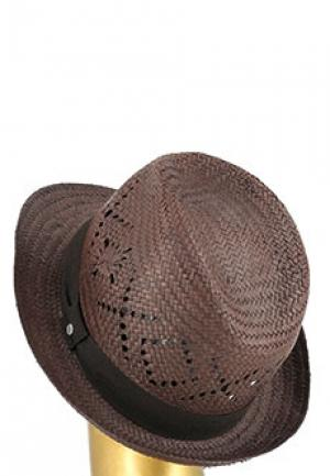 Шляпа STRELLSON. Цвет: коричневый