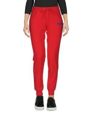 Повседневные брюки CARLSBERG. Цвет: красный
