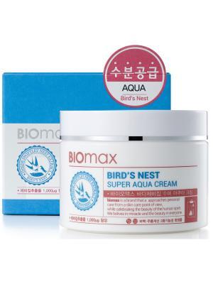 Интенсивно увлажняющий крем с  экстрактом ласточкиного гнезда BIO max. Цвет: белый