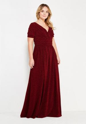 Платье To be Bride. Цвет: бордовый