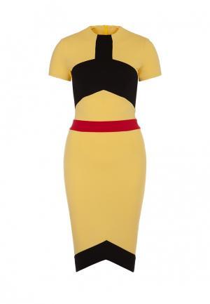 Платье Olga Skazkina. Цвет: желтый