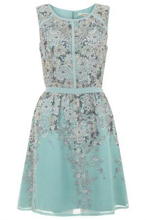 Платье Uttam Boutique. Цвет: multicolor