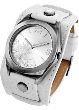 Часы Имке (белый) bonprix. Цвет: белый