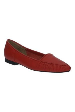Туфли American Apparel. Цвет: красный