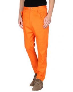 Повседневные брюки CAMO. Цвет: оранжевый