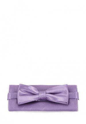 Бабочка и платок Greg. Цвет: фиолетовый