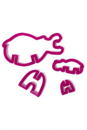 Формы для печенья 3D Safari Suck UK. Цвет: фиолетовый