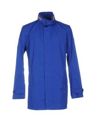 Легкое пальто ADHOC. Цвет: синий
