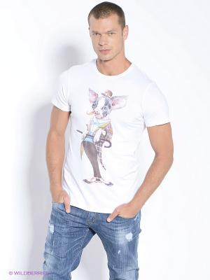 Футболка Alexander Konasov. Цвет: белый