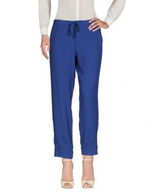 Повседневные брюки GOTHA. Цвет: грифельно-синий