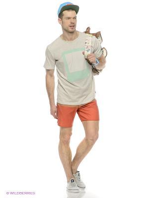 Бордшорты  ANTHEM DC Shoes. Цвет: бежевый, оранжевый