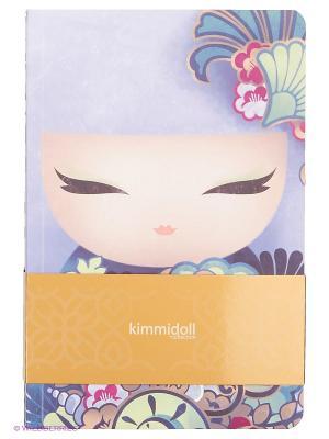 Набор записных книжек Айри Kimmidoll. Цвет: фиолетовый, синий, голубой