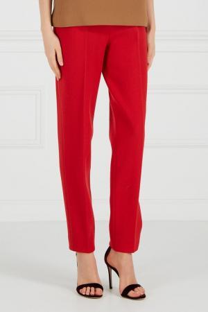 Прямые красные брюки Chapurin. Цвет: none