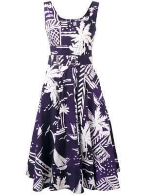 Платье April Samantha Sung. Цвет: розовый и фиолетовый