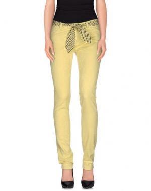 Повседневные брюки J.W. BRINE. Цвет: желтый