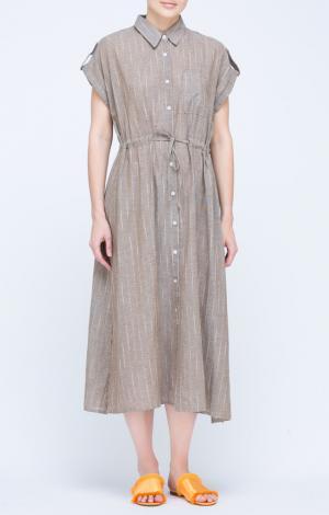 Платье Коричневое Trends Brands