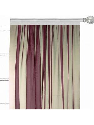 Однтонная вуаль Шоколад Altali. Цвет: коричневый