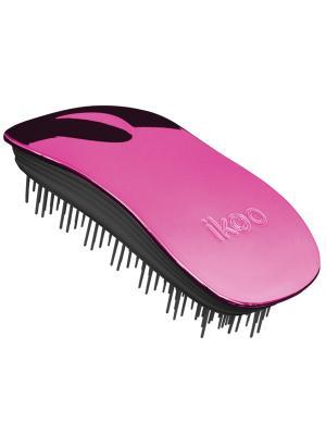 Расческа для волос ikoo. Цвет: малиновый