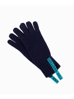 Перчатки Gulliver. Цвет: темно-синий