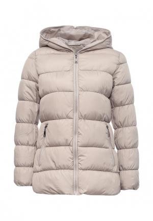 Куртка утепленная Fantasy. Цвет: бежевый