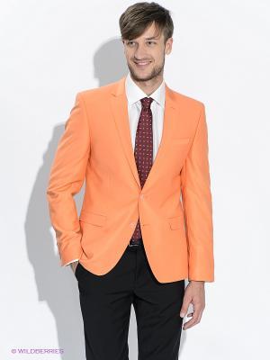 Пиджак ABSOLUTEX. Цвет: светло-оранжевый