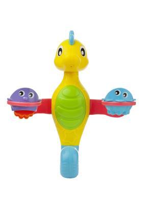 Фонтанчик Морской конек Playgro. Цвет: голубой, желтый, красный
