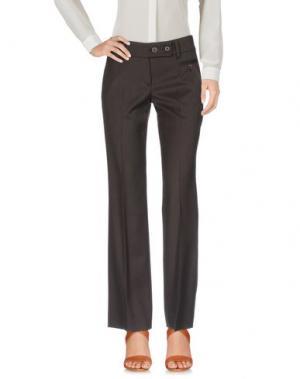 Повседневные брюки GUNEX. Цвет: темно-коричневый
