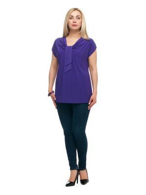 Блузка OLSI. Цвет: фиолетовый