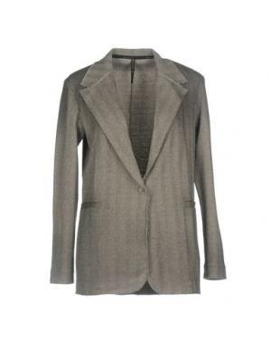 Пиджак MANILA GRACE. Цвет: серый