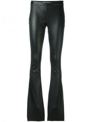 Расклешенные брюки Pierre Balmain. Цвет: чёрный