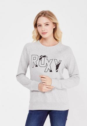 Свитшот Roxy. Цвет: серый
