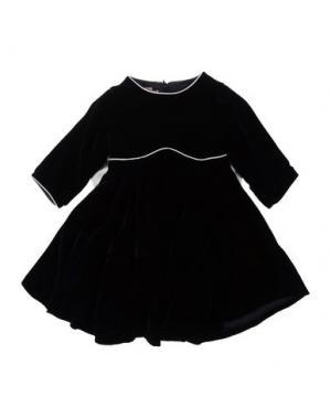 Платье LA STUPENDERIA. Цвет: черный