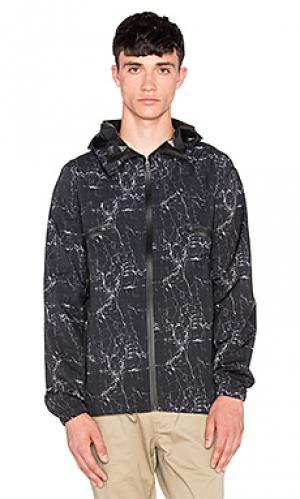 Куртка saul tech ourCASTE. Цвет: черный