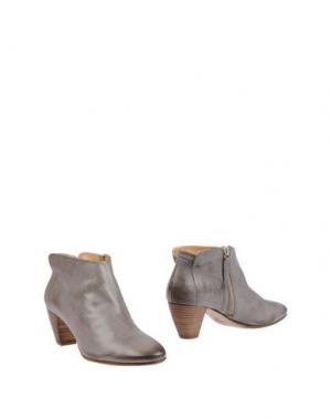 Полусапоги и высокие ботинки GAIA D'ESTE. Цвет: светло-серый