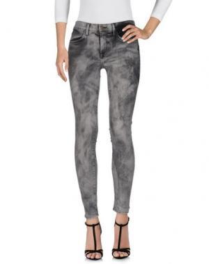 Джинсовые брюки WILDFOX. Цвет: свинцово-серый