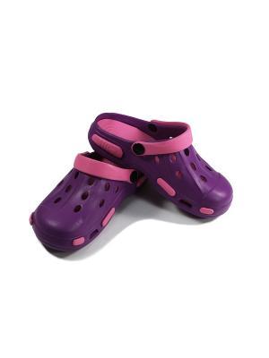 Сабо Tilla. Цвет: фиолетовый, розовый