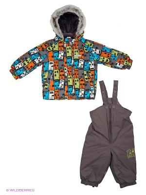 Комплект одежды Kerry. Цвет: серо-коричневый, оранжевый