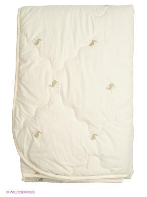 Одеяло всесезонное Верблюжка Лежебока. Цвет: бежевый